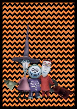 Nightmare Before Christmas - Lock Shock Barrel - Banner