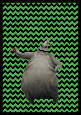 Nightmare Before Christmas - Oogie Boogie - Banner