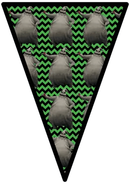 Nightmare Before Christmas - Oogie Boogie - Pennants