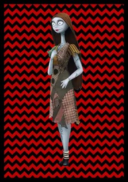 Nightmare Before Christmas - Sally - Banner
