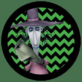 Nightmare Before Christmas - Shock - Halloween Toppers