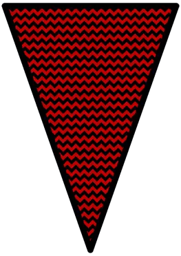 The Nightmare Before Christmas - Red - Pennants