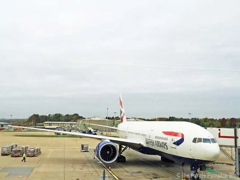 British Airways Aeroplane to Orlando Florida