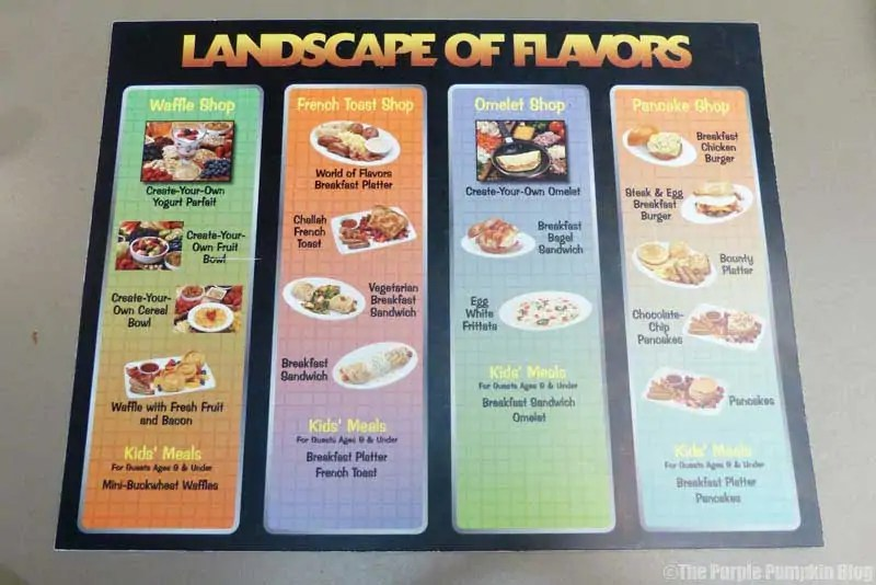Disney Art of Animation - Landscapes of Flavors