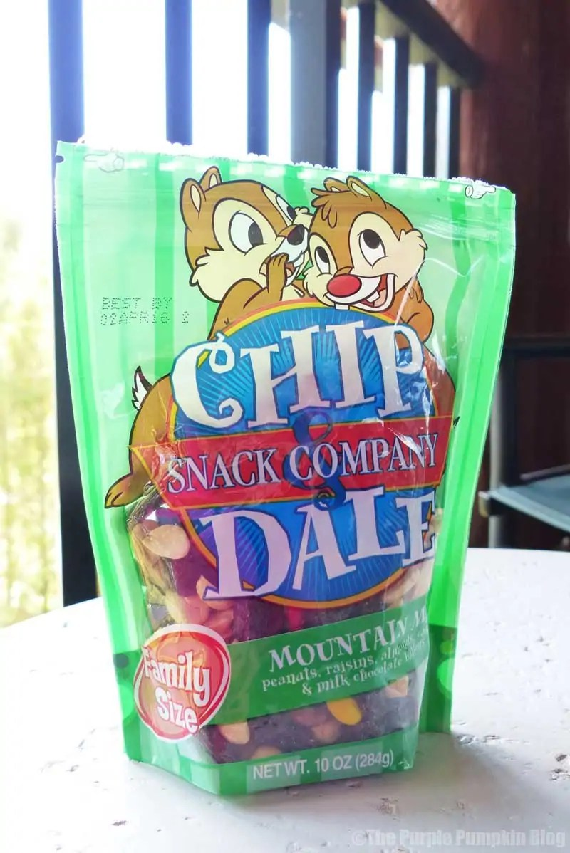 Disney Snacks - Chip n Dale Trail Mix