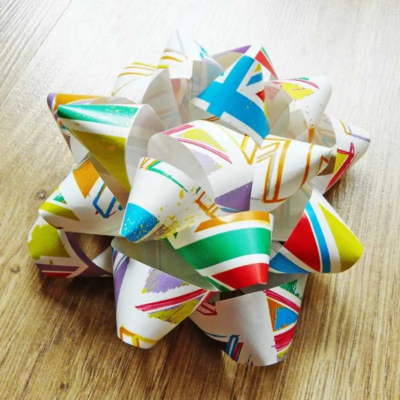 How To Make A Paper Bow