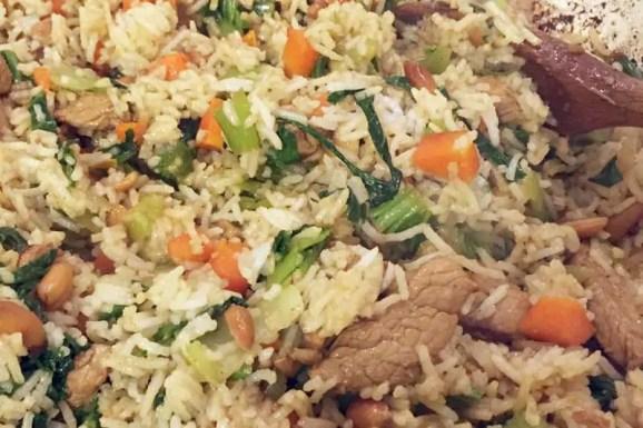 Teriyaki Pork Fried Rice