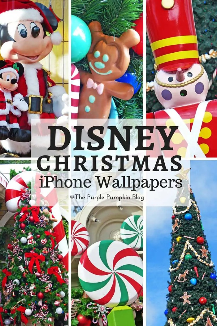 walt disney world christmas iphone wallpapers free download