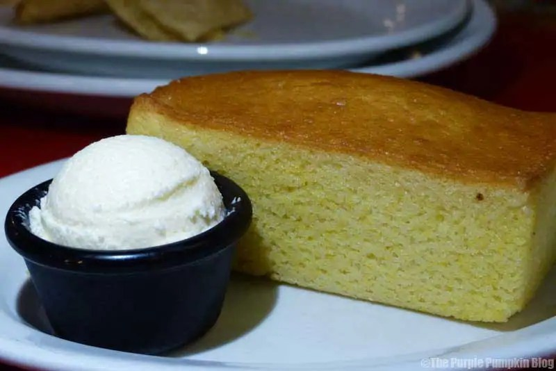 Whispering Canyon Cafe at Wilderness Lodge - Fresh-Baked Cornbread