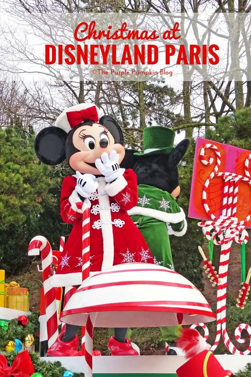 Christmas at Disneyland Paris - Trip Report. Part 4 is all about the Christmas Parade