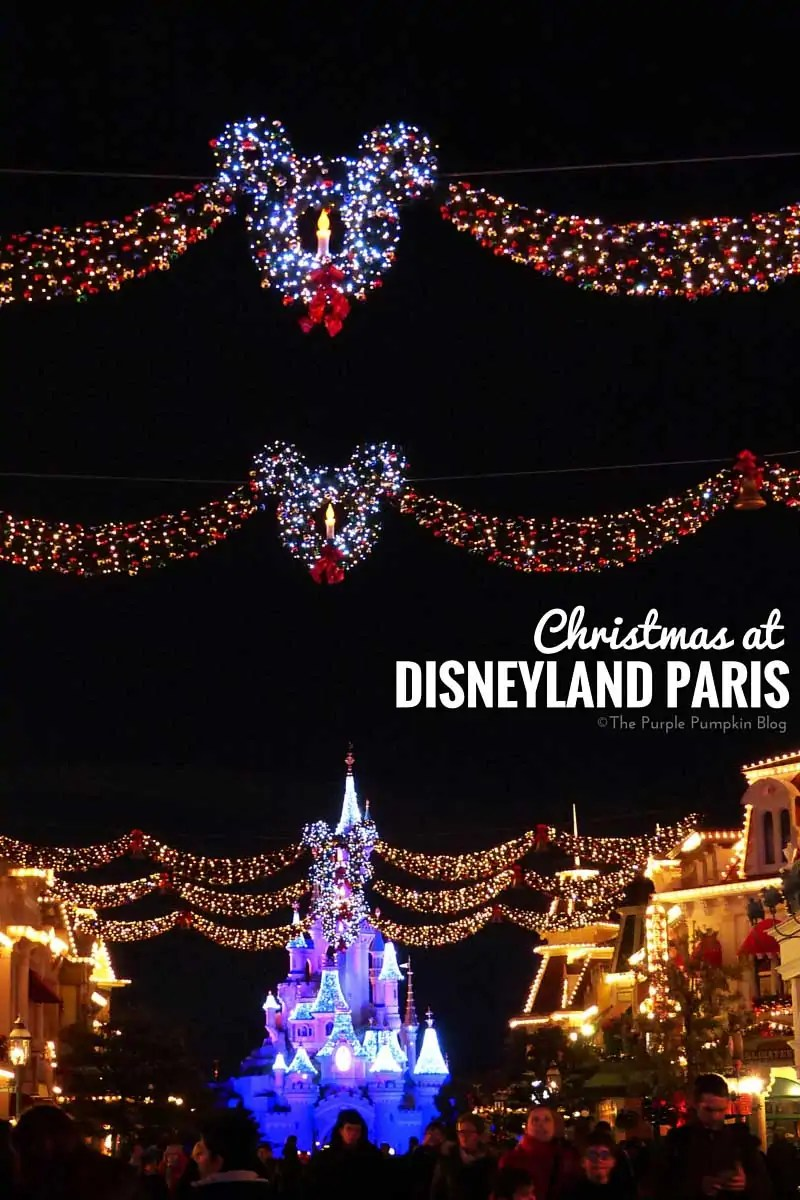Christmas at Disneyland Paris - Trip Report, full of useful info and great photos!