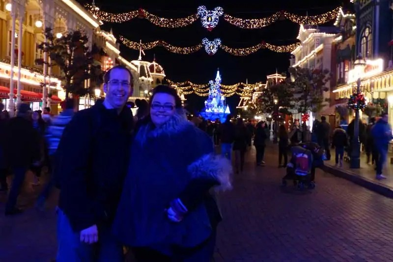 Christmas Day at Disneyland Park - Disneyland Paris
