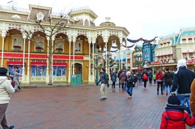 Main Street USA - Disneyland Park Paris