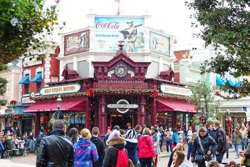 Main Street USA - Disneyland Park Paris