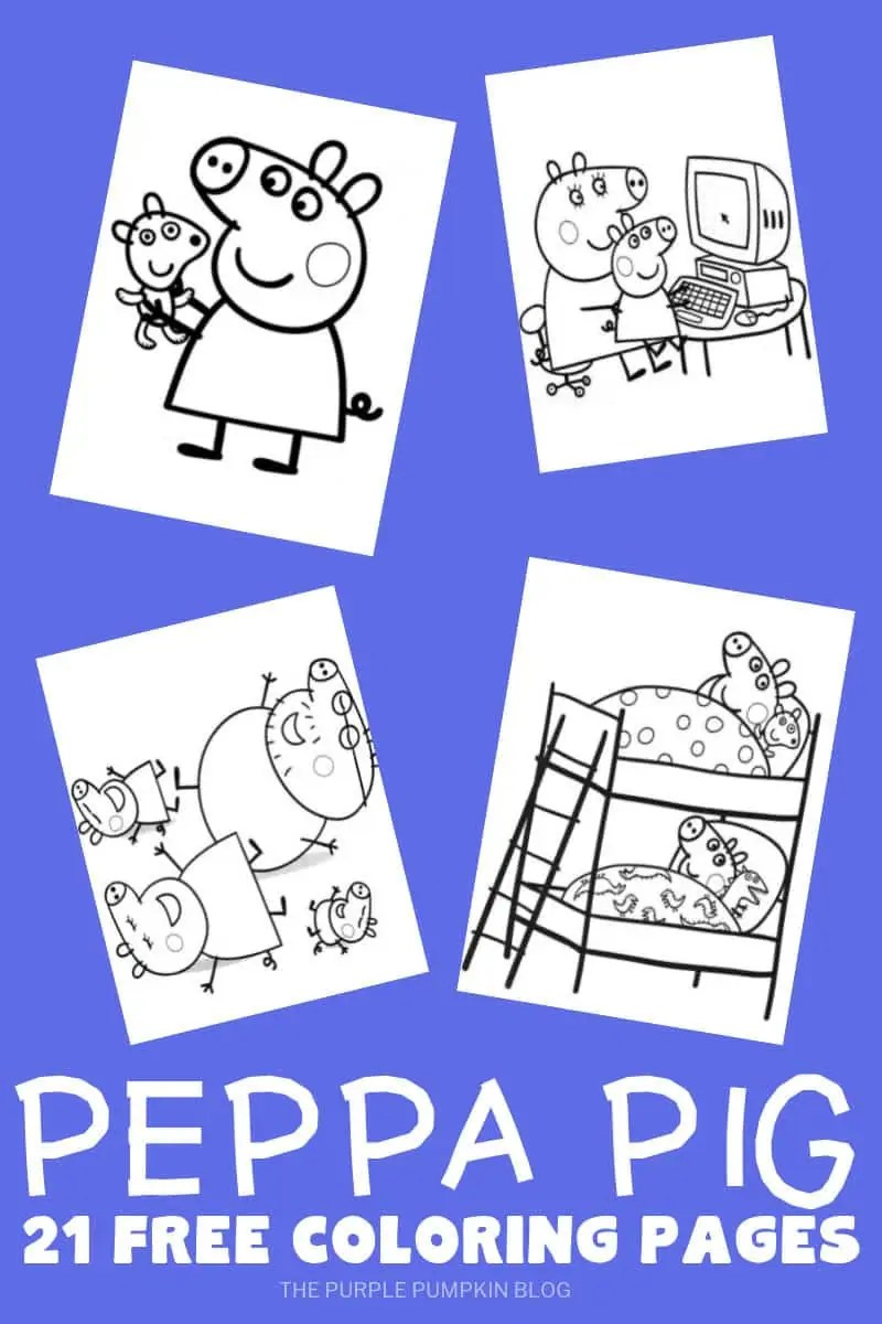 Peppa Pig Party Printables + Fun Party Ideas
