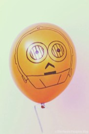 Star Wars Balloons - C3-PO