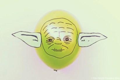 Star Wars Balloons - Yoda