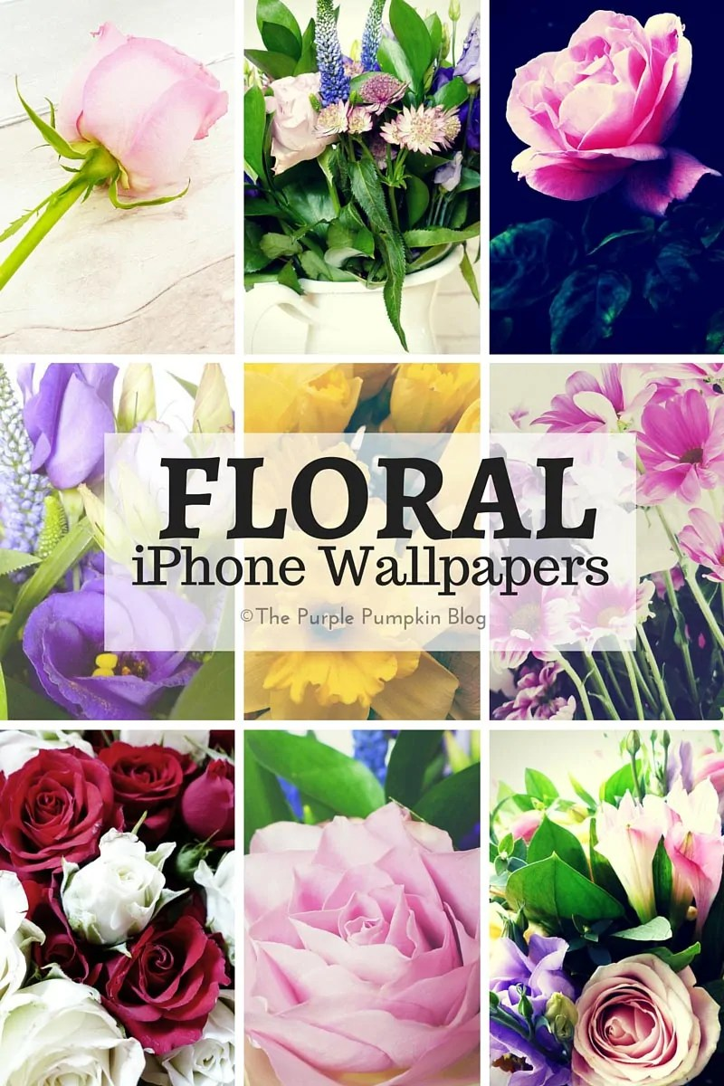Ive Made A Set Of Nine Floral IPhone Wallpapers For You Today With Spring On Its Way I Hope As Well Mothers Day And Easter Thought Pretty