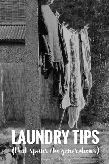 Laundry Tips (that span the generations)