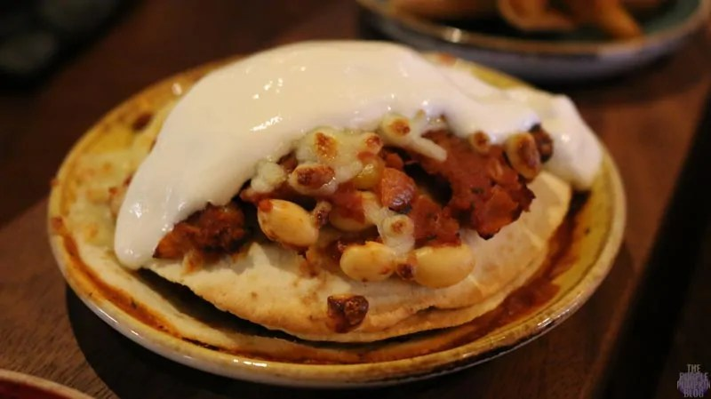 Chiquito - Street Food - Tortilla Stack (Five-Bean Chilli)
