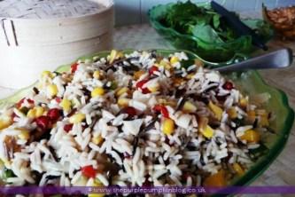 Tropical Island Rice Salad