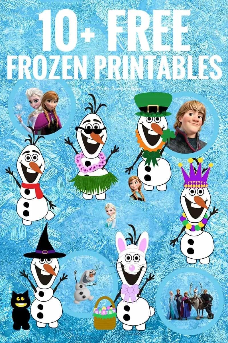 - Free Frozen Printables Fun Free Printables For Frozen Fans