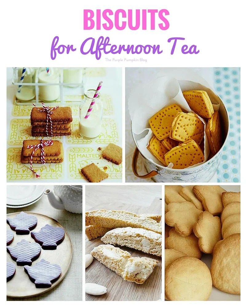 Biscuits for Afternoon Tea + 45 more recipes to choose from!