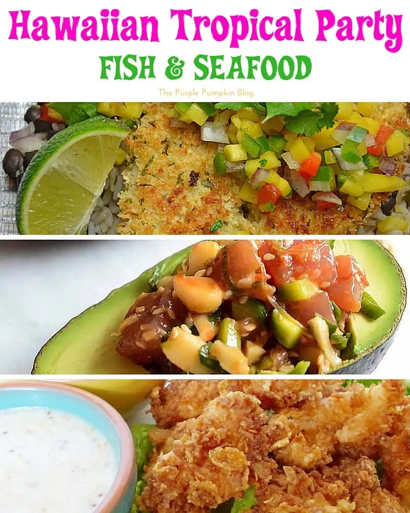 50 recipes for a hawaiian tropical party for Hawaiian fish recipes