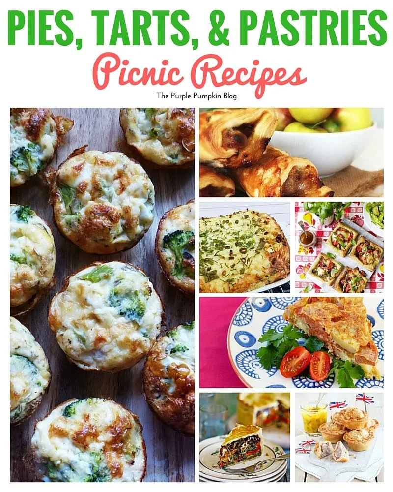 Pies, Tarts & Pastries to make for a picnic, plus 43 more picnic recipes to try