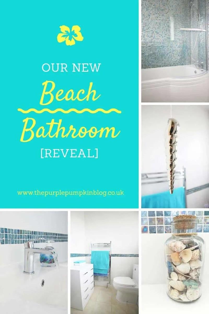 beach bathroom reveal! | bathroom takeaway » the purple pumpkin blog