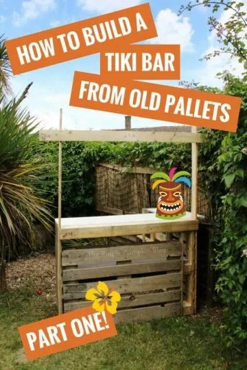 How to build a tiki bar from old pallets