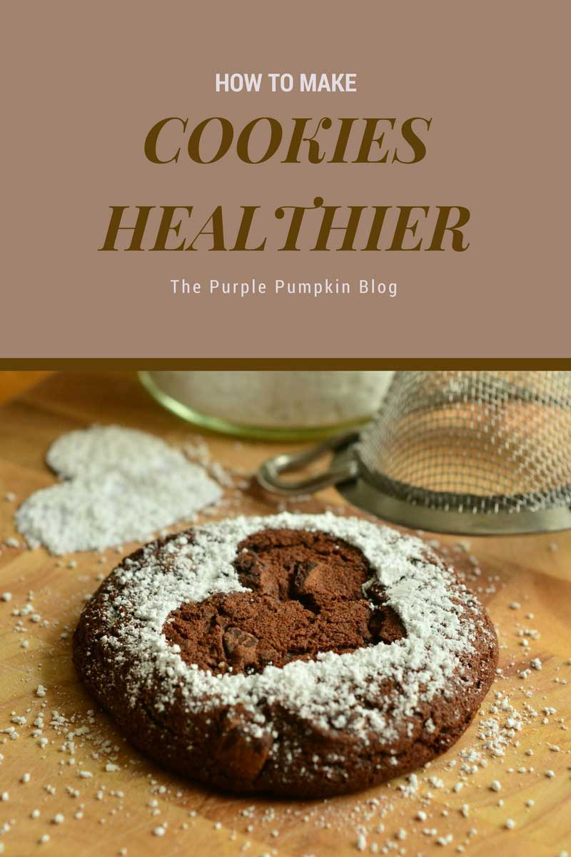How to make cookies healthier. Cookies are delicious — there's no denying it. Luckily, there are some ways you can make healthier cookies just by tweaking the recipes some.