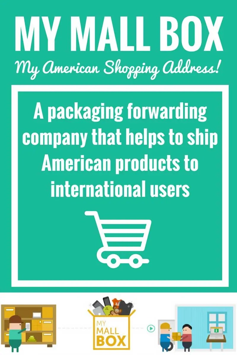 My Mall Box - a packaging forwarding company that helps to ship American products to international users