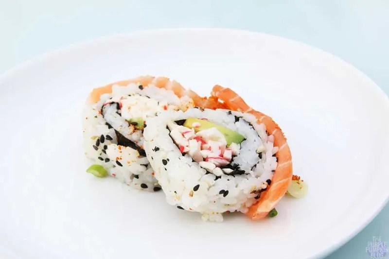 Salmon Dragon Roll - Yo! Sushi