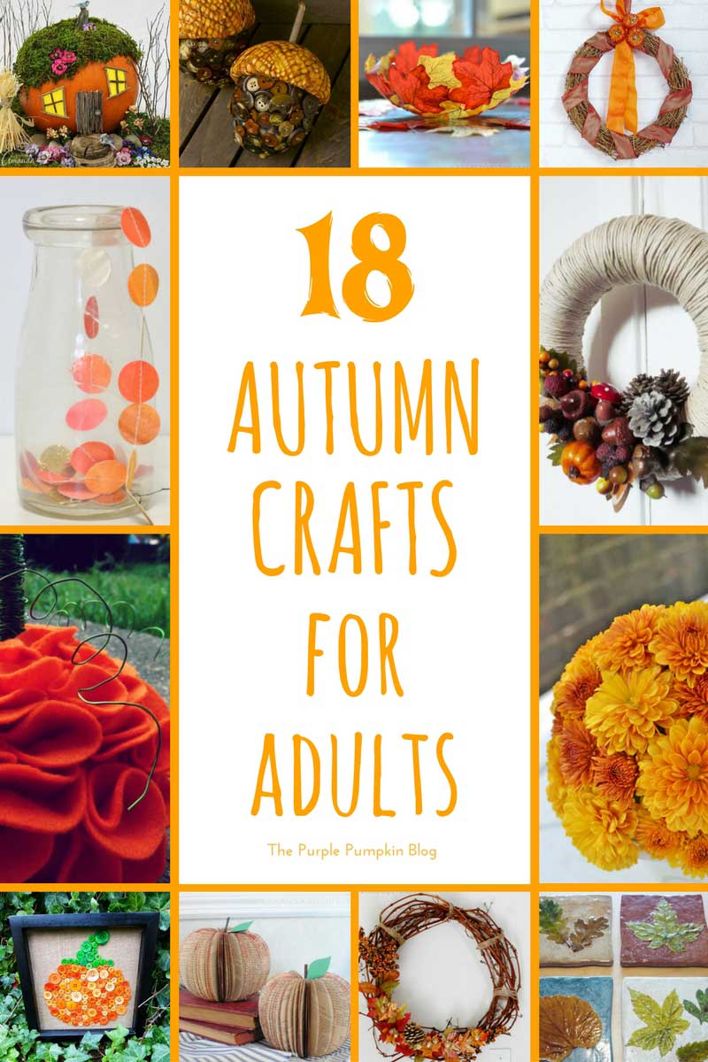 good Fall Crafts For Seniors Part - 7: I generally seem to craft more in the autumn and winter months, I donu0027t  know why, itu0027s just the way it is! I love the beautiful rusty colours u2013  reds, golds, ...