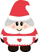 Mrs Claus - The Purple Pumpkin Blog
