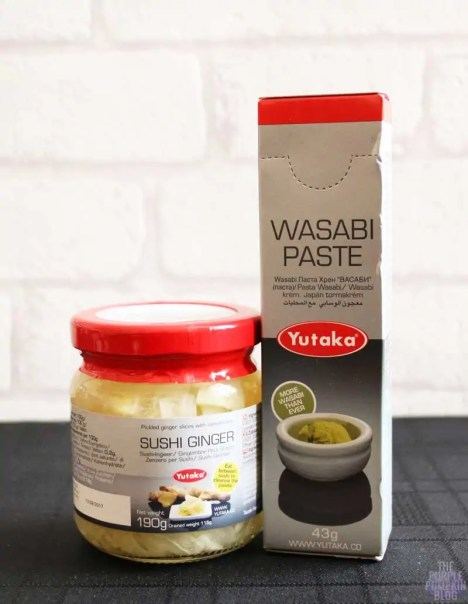 Yutaka products to make sushi at home