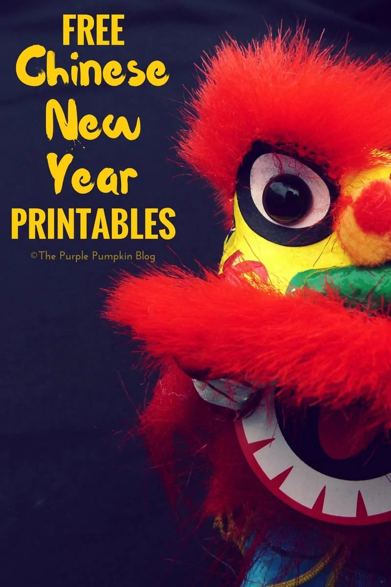 Free Chinese New Year Printables. If you love to celebrate the Chinese New Year at home, you will love these fun and festive printables!