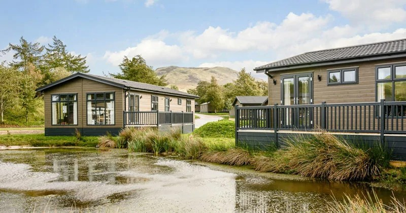 Keswick Reach Lodge Retreat in the Lake District