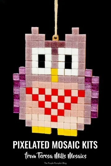 Pixelated Mosaic Kits from Teresa MIlls Mosaics