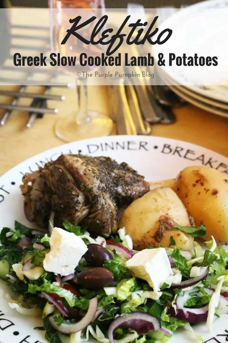 Kleftiko - Greek Slow Cooked Lamb & Potatoes in the Slow ...