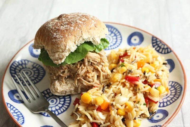 Kalua Pork & Tropical Rice Salad