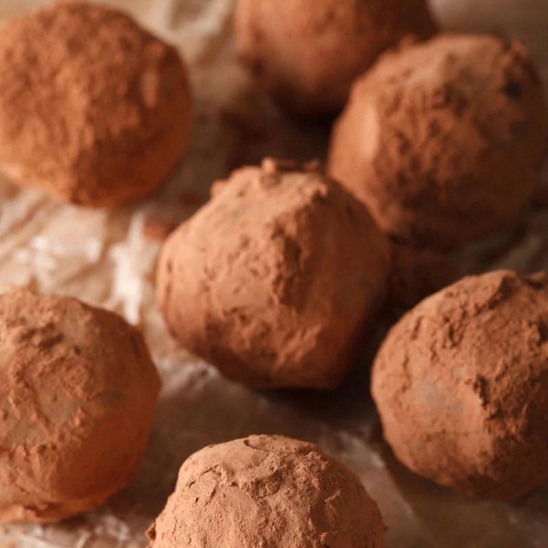 Japanese Inspired Chocolate Truffles