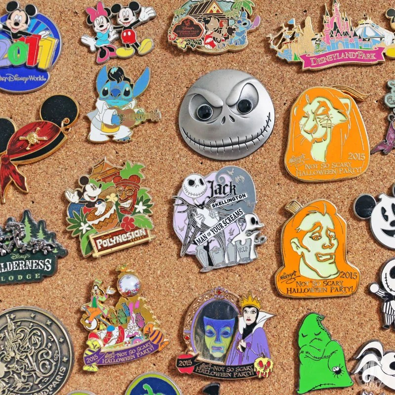 Project 365 - 2017 - Day 117 - Disney Pins