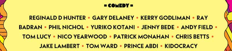 Comedy at Camp Bestival 2017