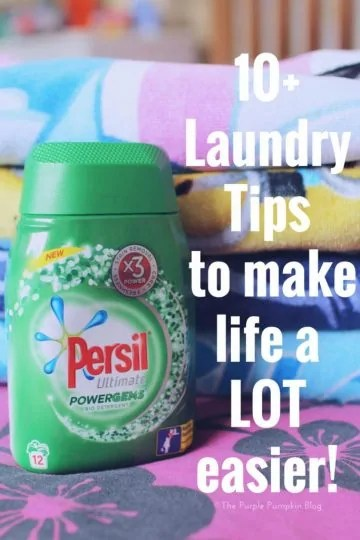 10+ Laundry Tips To Make Life A LOT Easier! Save these tips and start implementing them if you hate doing the laundry!!
