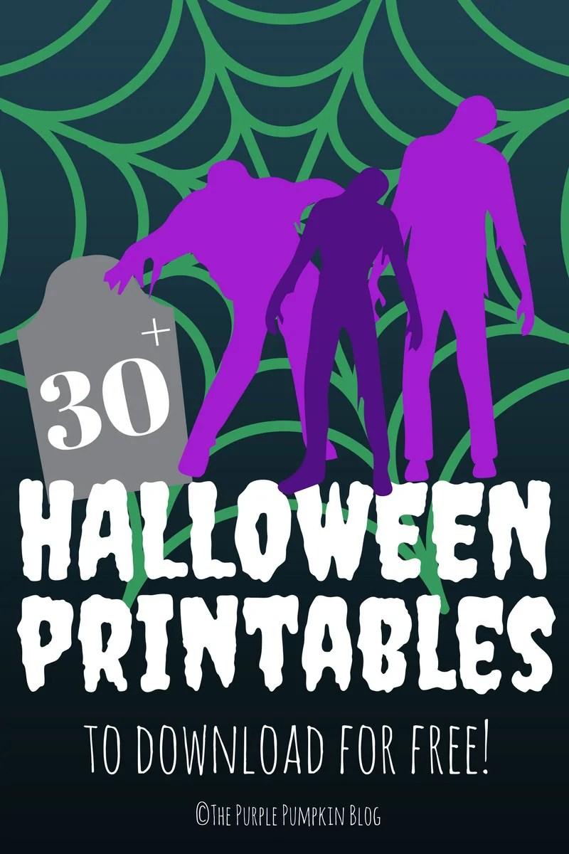 30 Halloween Printables to Download for Free!