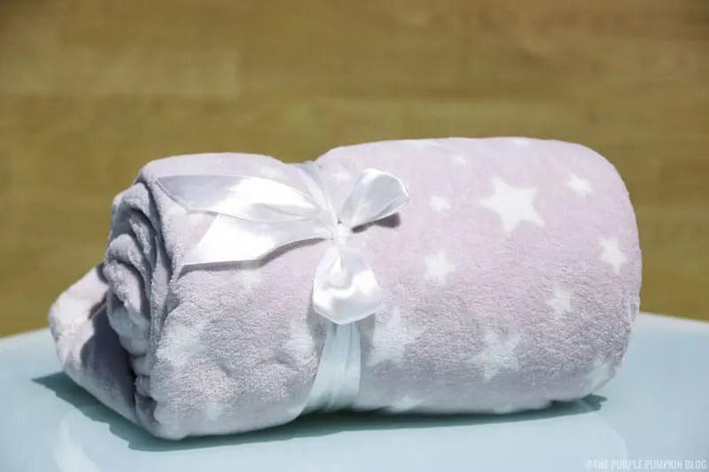 Grey Star Snuggle Blanket