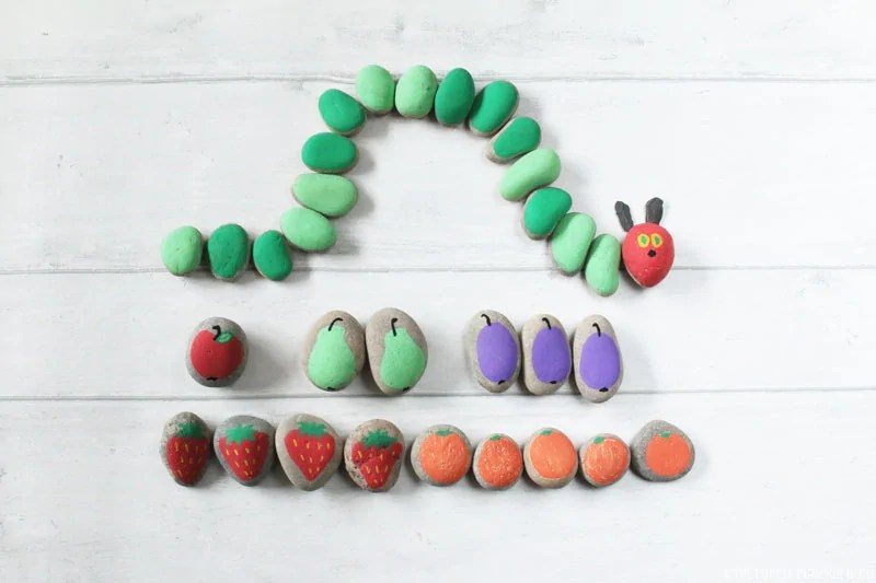 The Very Hungry Caterpillar Stones