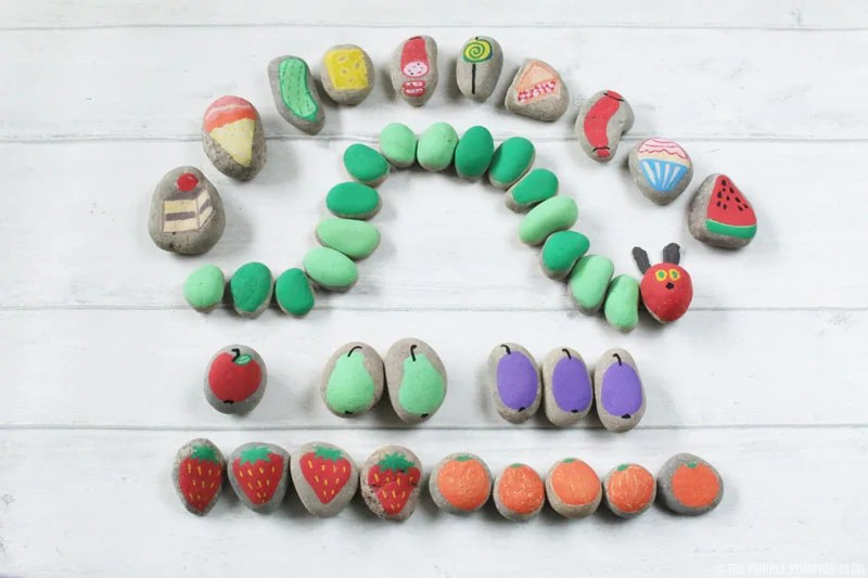 The Very Hungry Caterpillar Story Stones